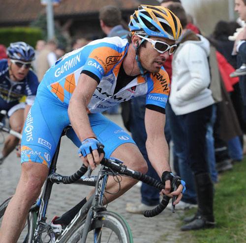David Millar Tour of Flanders 2010