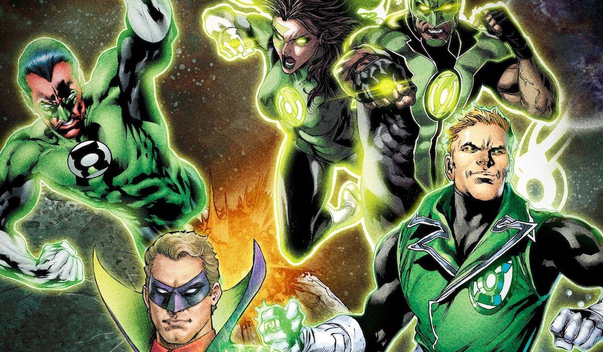 Various Green Lanterns DC Comics