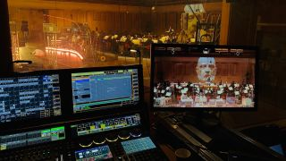 Hippotizer Media Servers from Green Hippo were used recently to drive the visual content for a unique production of Mozart's opera, Don Giovanni, staged amid the COVID-19 pandemic to an empty Berwaldhallen concert hall in Stockholm.