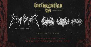 Incineration Festival 2022, landscape poster
