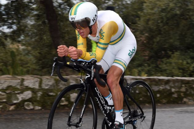 Photo: Richie Porte clocked the fastest time to overhaul a 36 second deficit. Photo: Graham Watson . (cyclingweekly.co.uk)