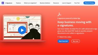 Download Adobe Sign - Adobe Sign's homepage