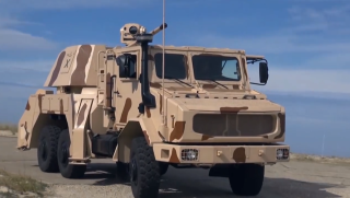 RAPIDFire Truck-Mounted Weapon