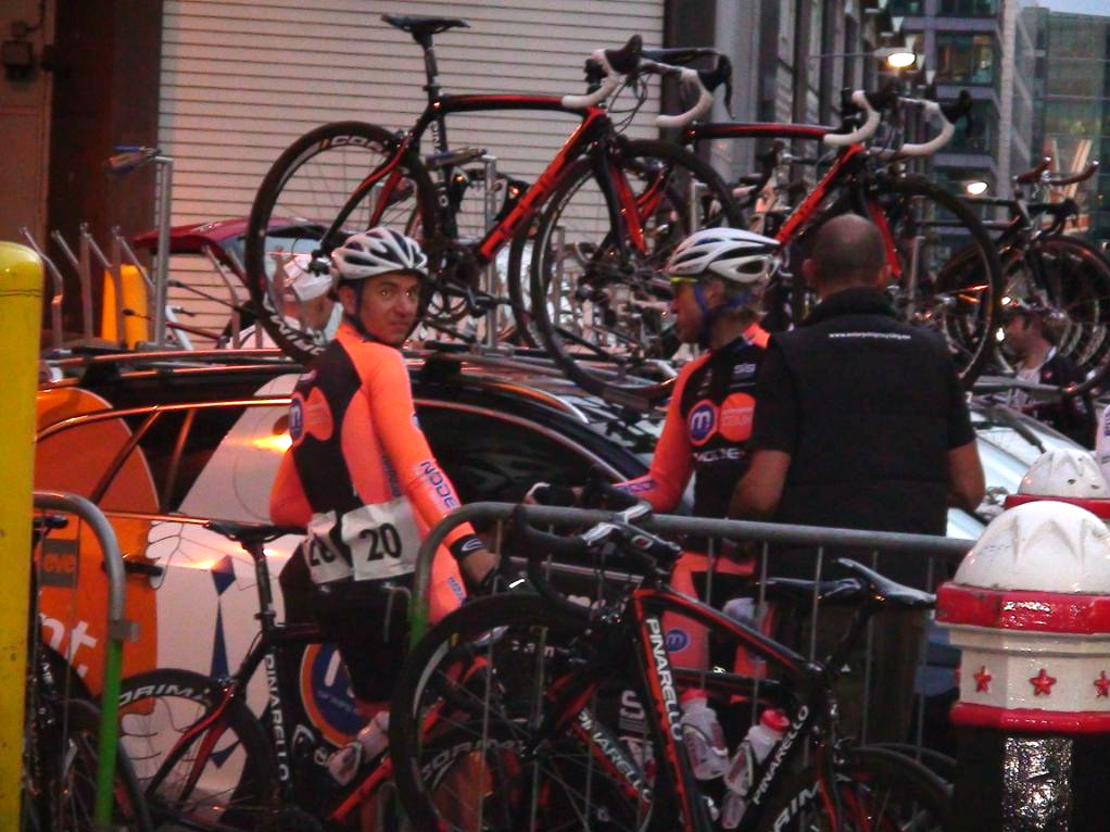 Motorpoint team at the London Nocturne 2011