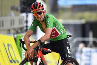 Sunweb's Tiesj Benoot finishes the seventh and final stage of the 2020 Paris-Nice to sew up the green jersey as points winner and second place on the general classification