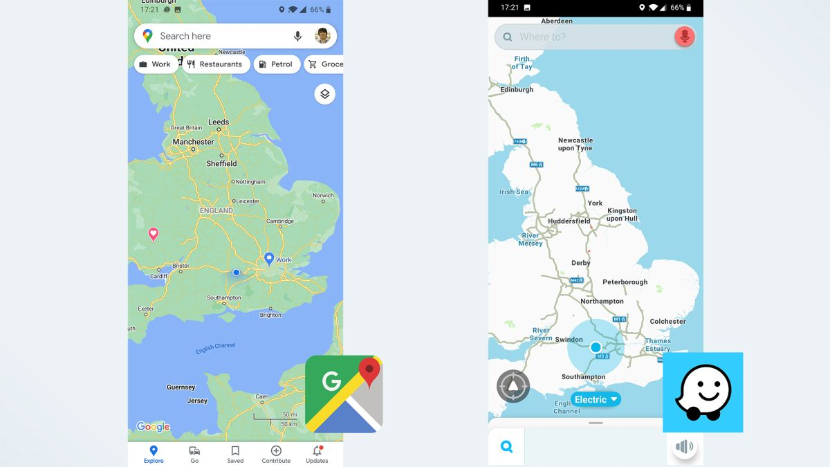 Google Maps vs. Waze: Which navigation app is better?