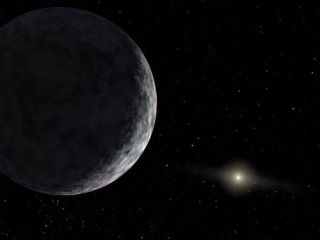Eris larger Pluto