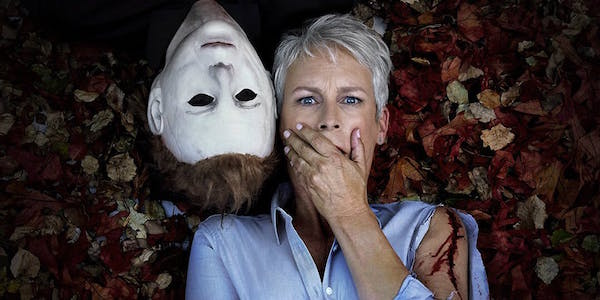 Promo image of Jamie Lee Curtis and Michael Meyers