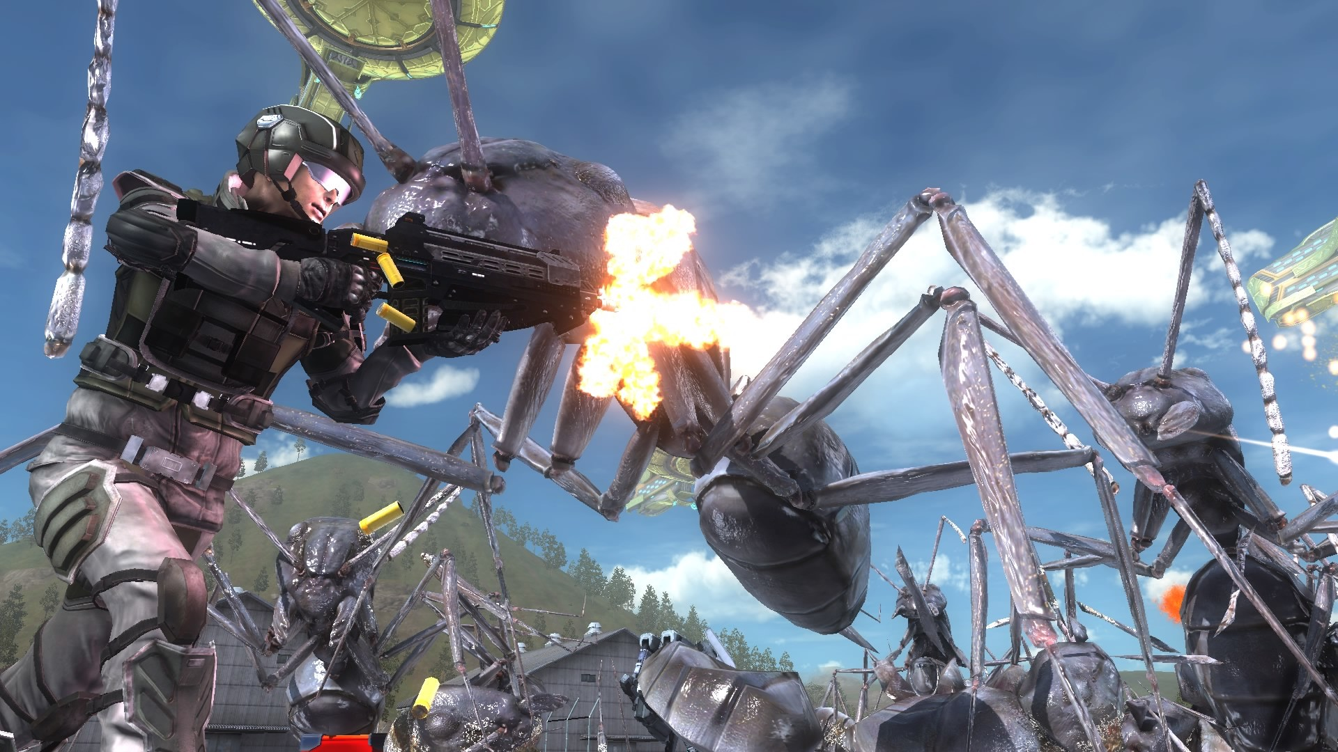 Earth Defense Force 5 is coming to Steam this week | PC Gamer