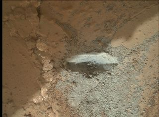 Mars Rover Curiosity Rock Drill