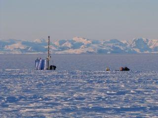 Greenland drilling