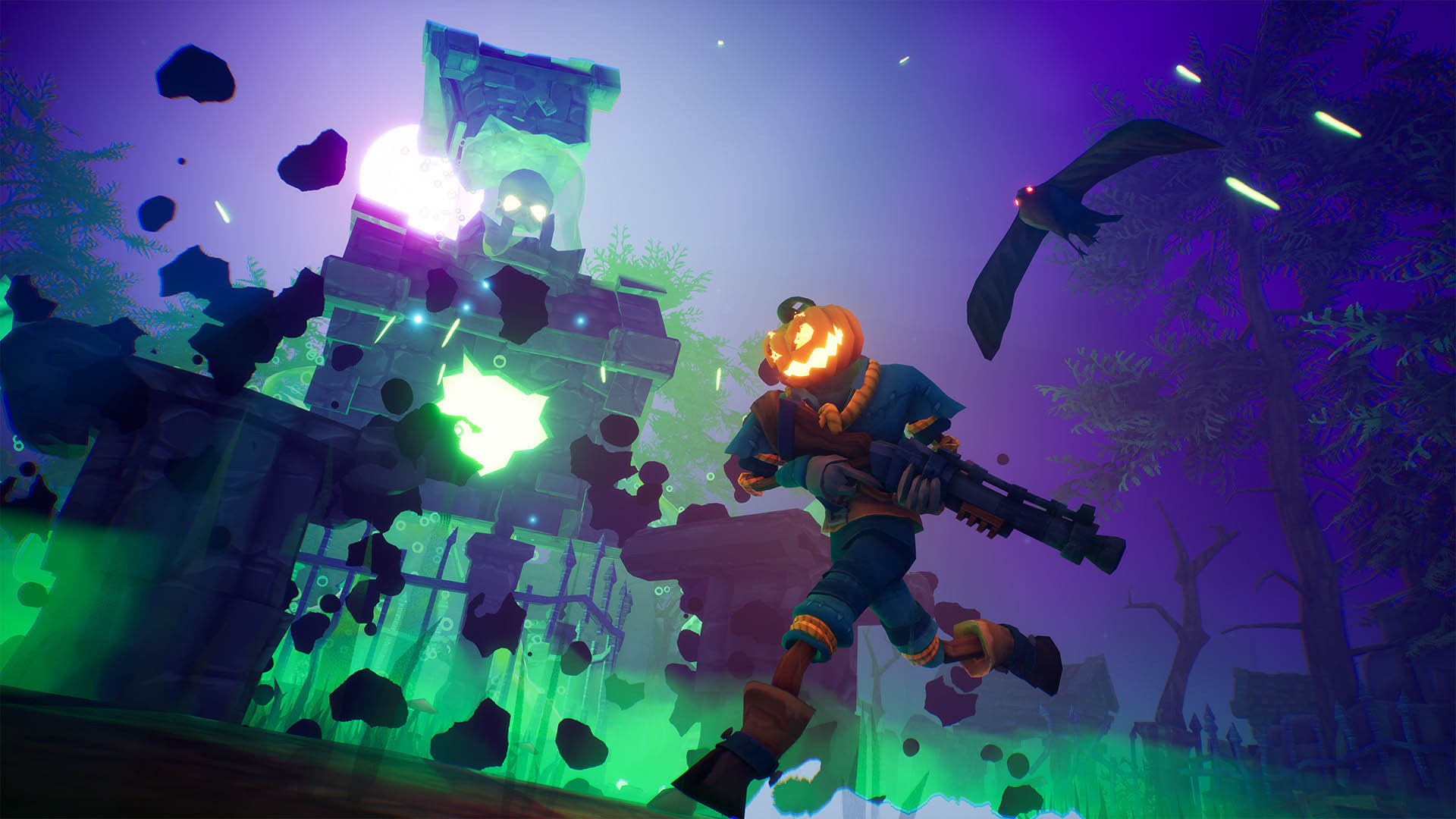 Pumpkin Jack and Ghostrunner will launch with ray tracing and Nvidia DLSS support