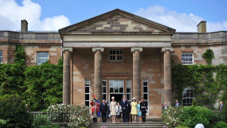 Welcome to Hillsborough Castle, the Queen's official Northern Ireland residence/CLODAGH KILCOYNE/WPA Rota/Press Association Images