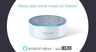 Amazon Alexa now supports music streaming from Deezer