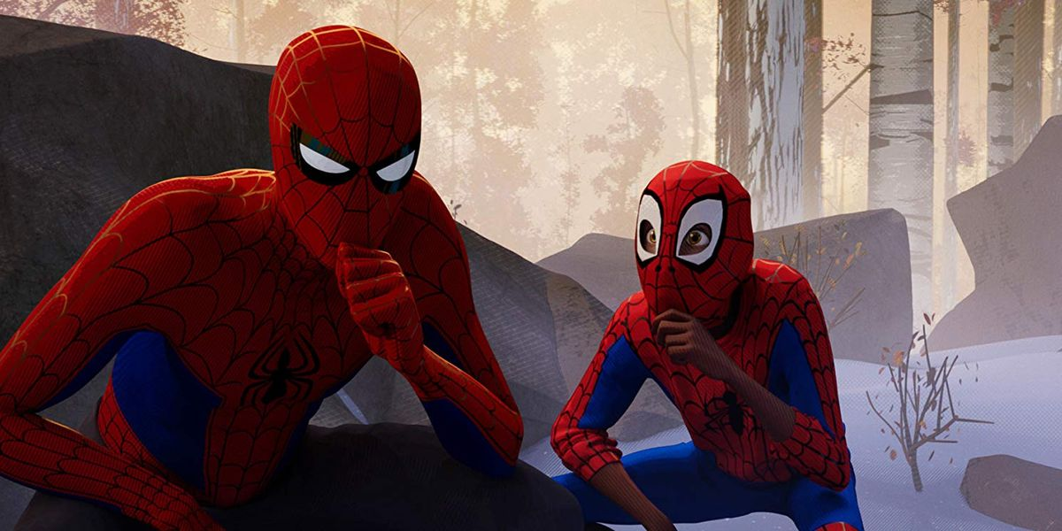 Peter Parker and Miles Morales
