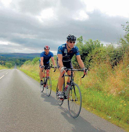 Mark Beaumont East Lothian ride
