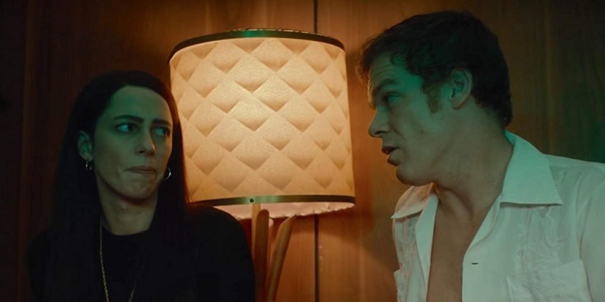 Rebecca Hall and Michael C. Hall in Christine