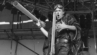 Robert Calvert onstage in the early 1970s
