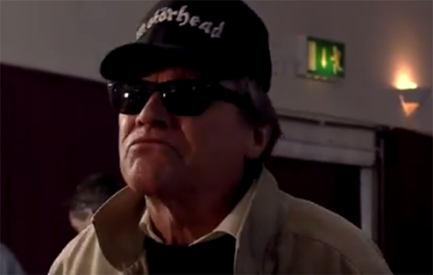 Roy dons rubbish rocker disguise as he seeks to expose Rosemary tonight!