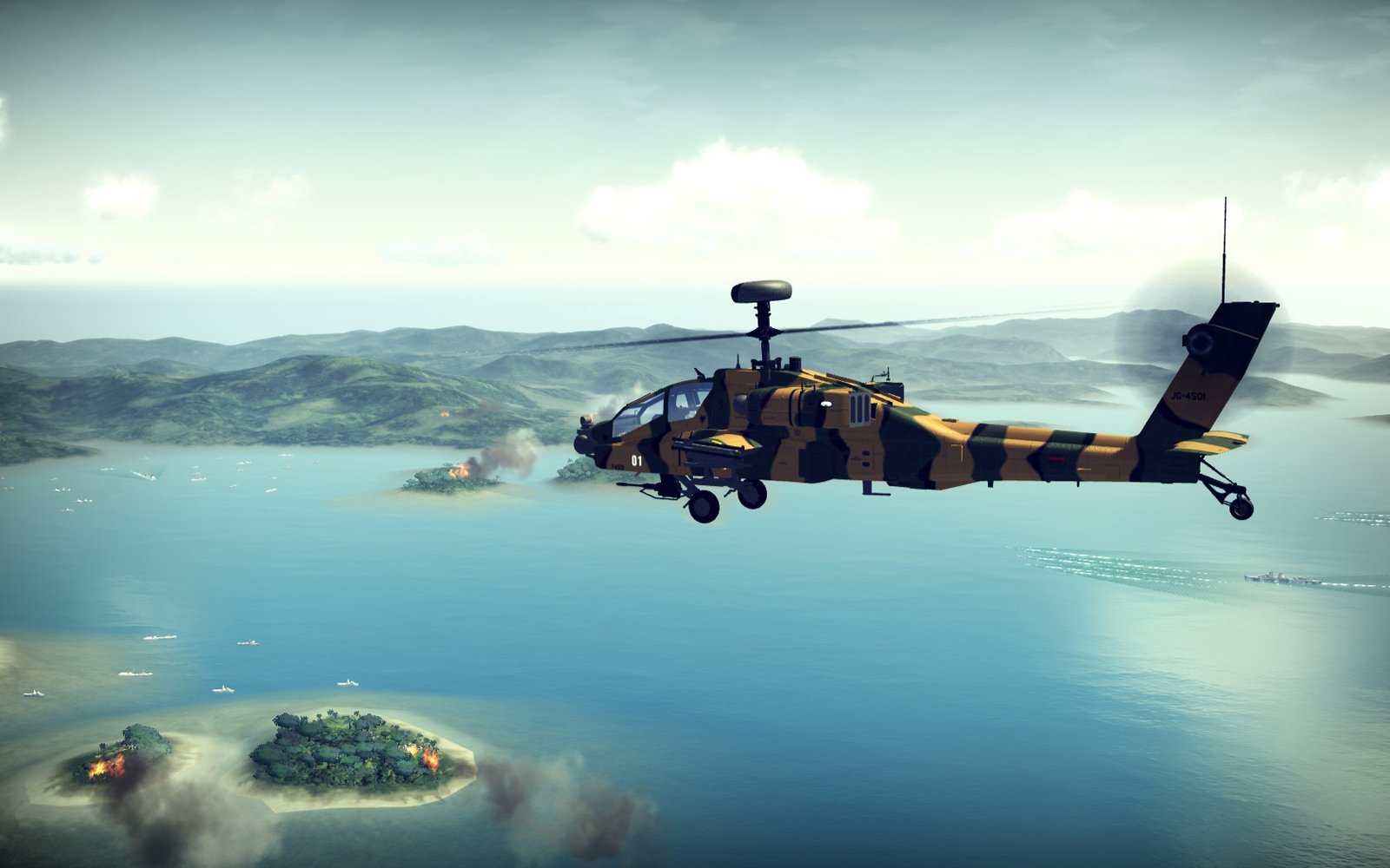 Apache Air Assault Coming To PS3 And Xbox 360 This Fall #13847