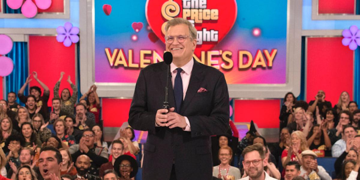 the price is right drew carey valentine's day