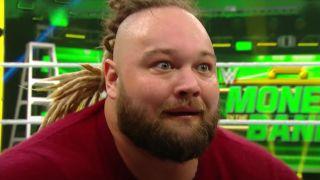 Bray Wyatt making a crazy face