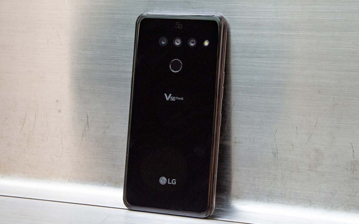 LG V50 ThinQ 5G Review: Last Year's Design, Next Year's Tech