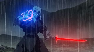 The villainous Elder in Star Wars: Visions Disney+ short