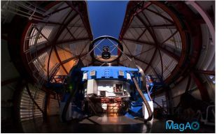 Magellan Telescope with MagAO's Adaptive Secondary Mirror
