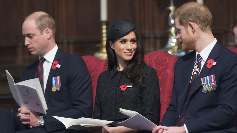 Prince Harry, Prince William, Mehgan Markle