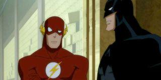 The Flash Batman Justice League