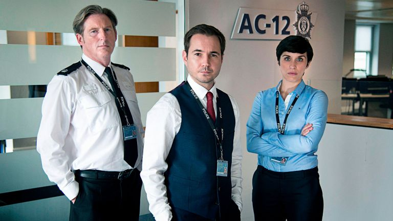 How to watch Line of Duty with stars: ADRIAN DUNBAR; MARTIN COMPSTON; VICKY MCCLURE