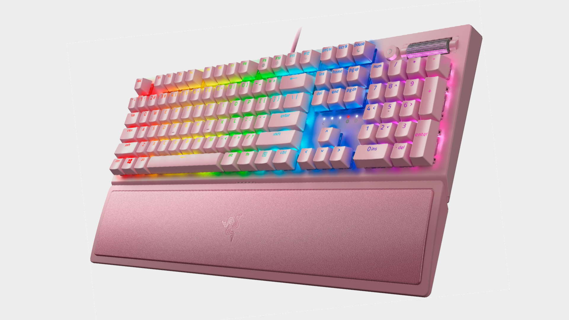 Razer's Blackwidow V3 gaming keyboard now comes in Quartz Pink