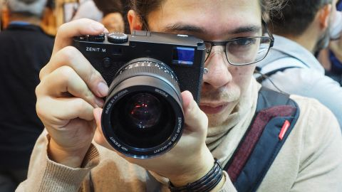 The Zenit M, a full frame mirrorless rangefinder collaboration between Leica and Zenit
