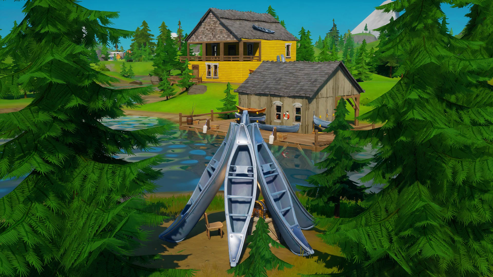 where is compact cars in fortnite chapter 2