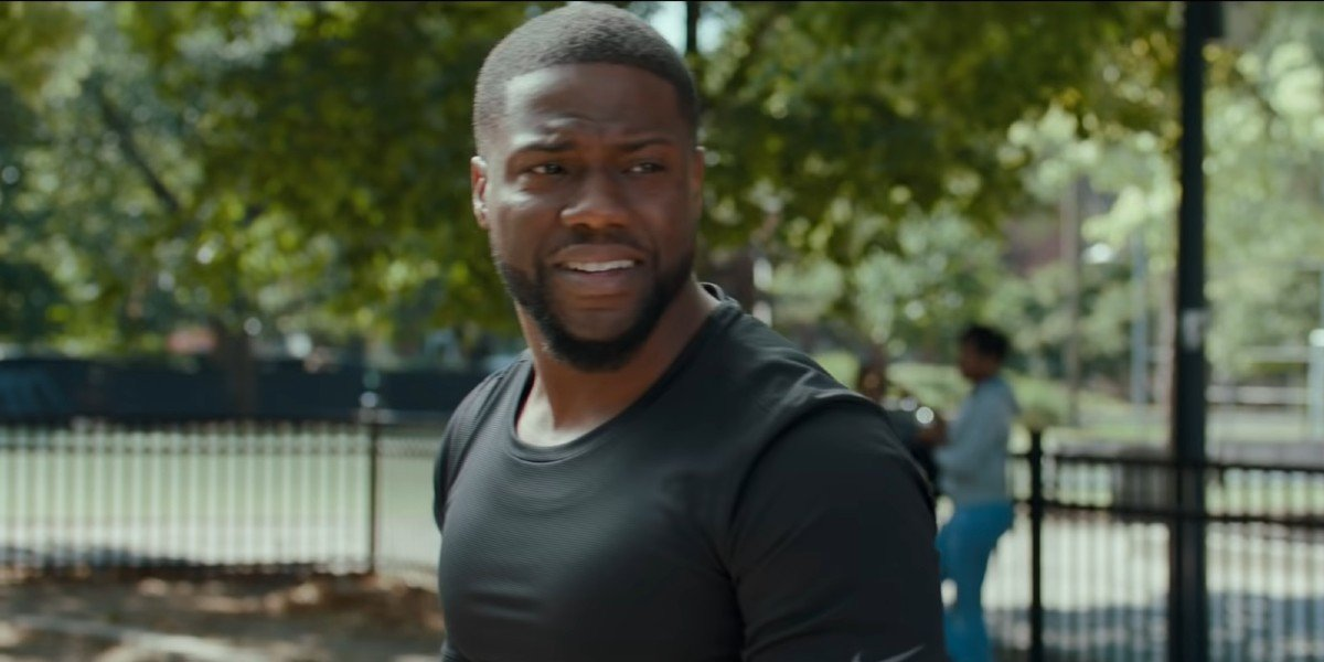 Now That He's Ripped For Borderlands With Jamie Lee Curtis, Kevin Hart Is All About Living The Shirtless Life