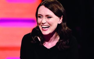 Keeley Hawes is here to talk to Graham tonight.