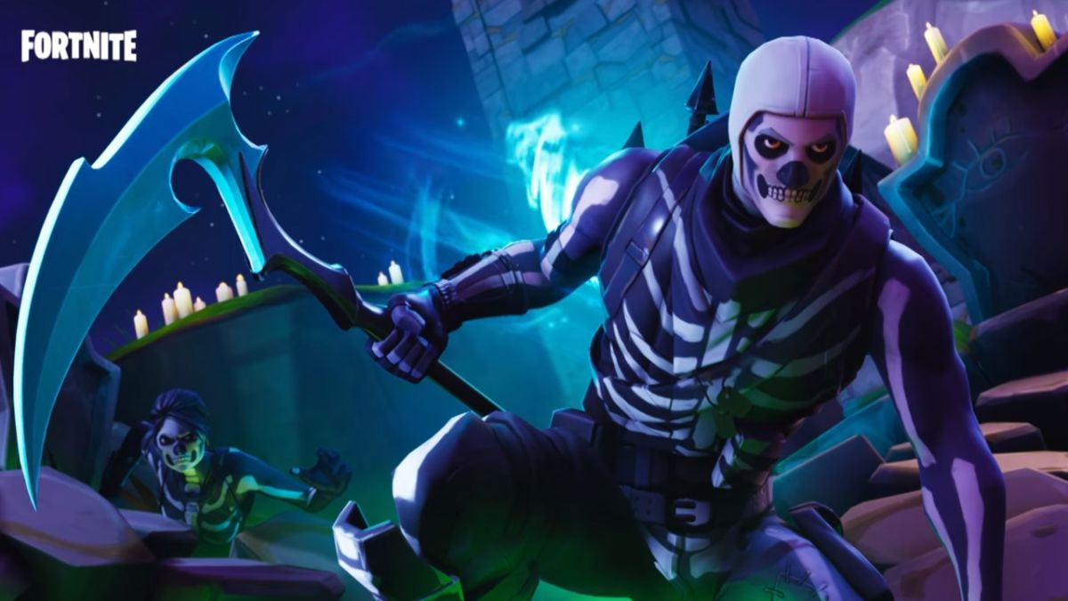 Fortnite Skull Trooper Skin Is Back And Causing A Fuss Gamesradar