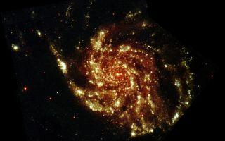 M 101 Pinwheel Galaxy space wallpaper