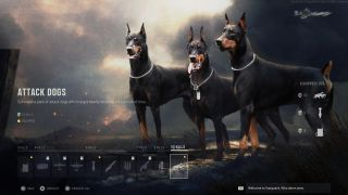 Call of Duty: Vanguard Attack Dogs