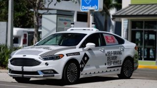 Pizza delivery meets self-driving