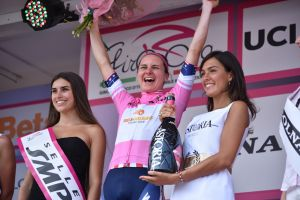 Megan Guarnier wins the Giro Rosa 2016 overall