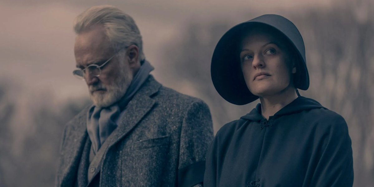Bradley Whitford and Elisabeth Moss on The Handmaid's Tale