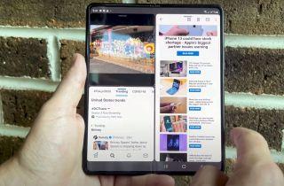 Samsung Galaxy Z Fold 3 multi-active window