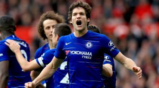 Marcos Alonso Chelsea Atletico Madrid