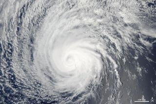 Hurricane Felicia satellite image