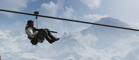 Call of Duty: Black Ops Cold War campaign zipline