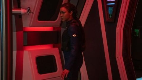Michael Burnham (Sonequa Martin-Green) in 'Star Trek: Discovery'.