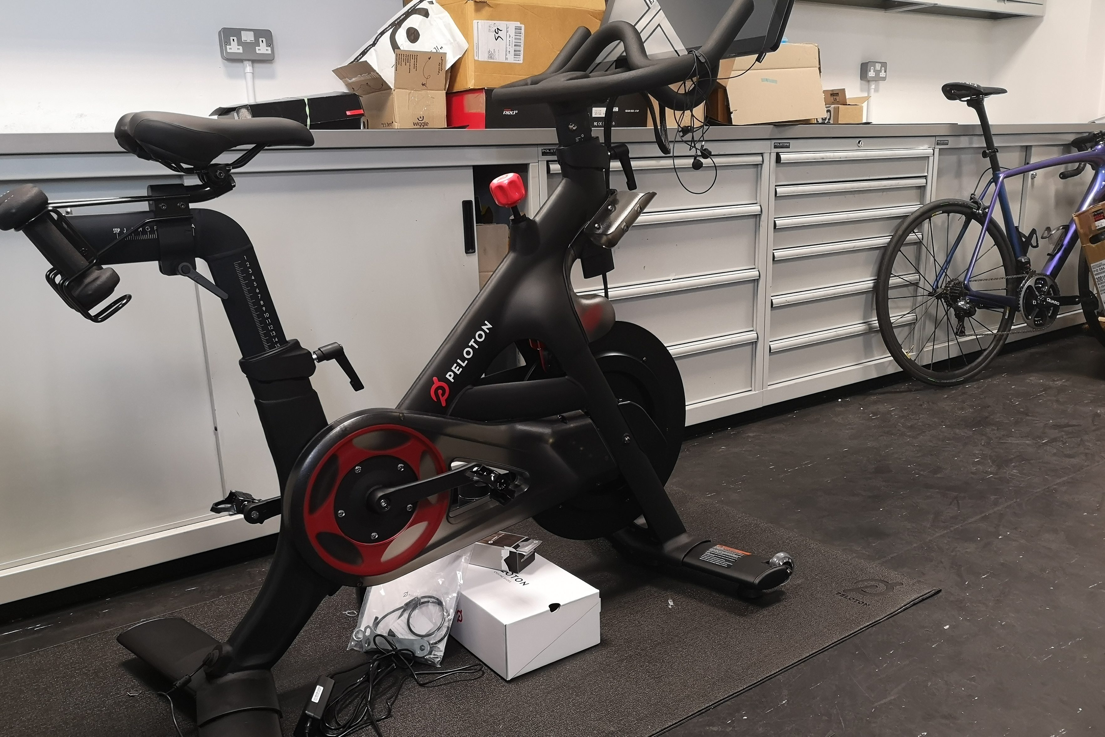 Peloton indoor training bike review - Cycling Weekly