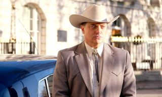 Brendan Fraser in FX's Trust.